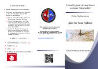 plaquette information touristes 2021