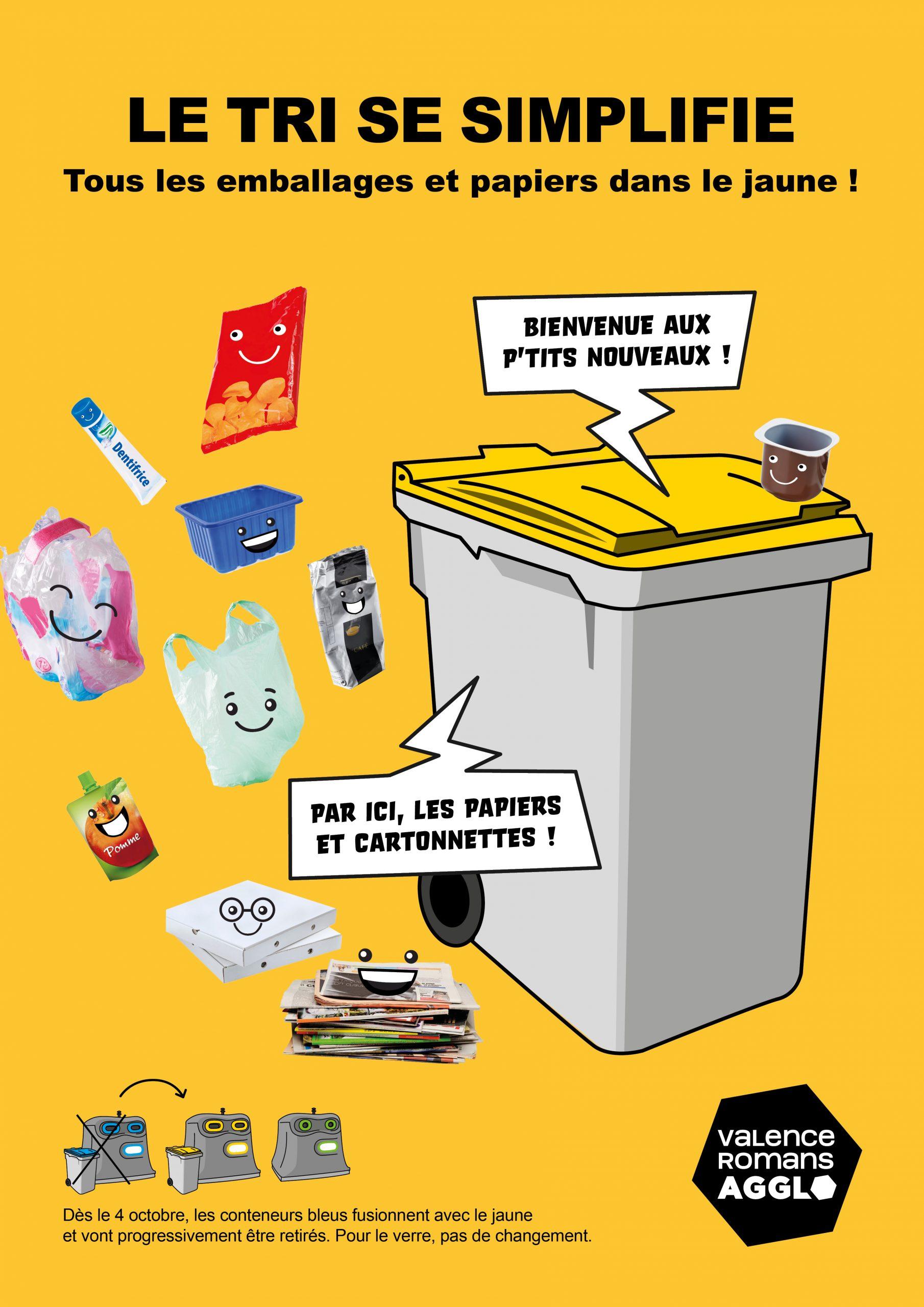 affiche Campagne Tri 2021